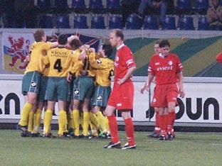 Opstelling tegen FC Twente