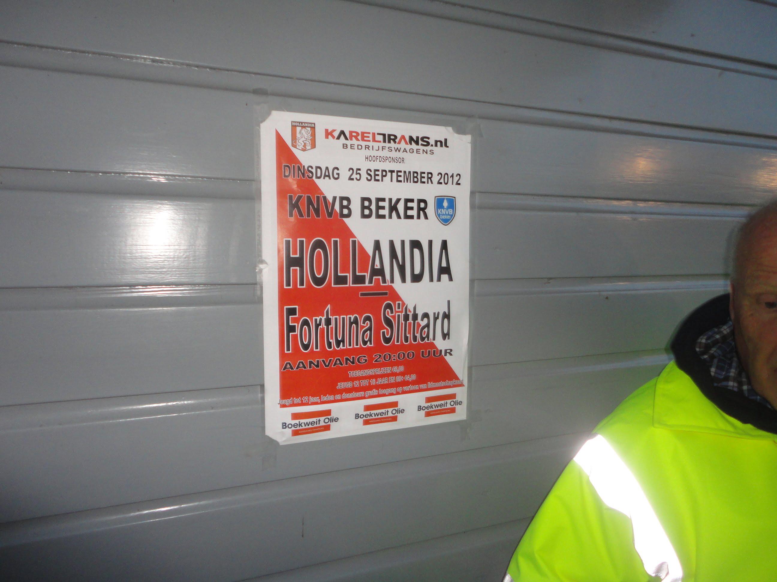 Hollandia 1 Fortuna Sittard 0