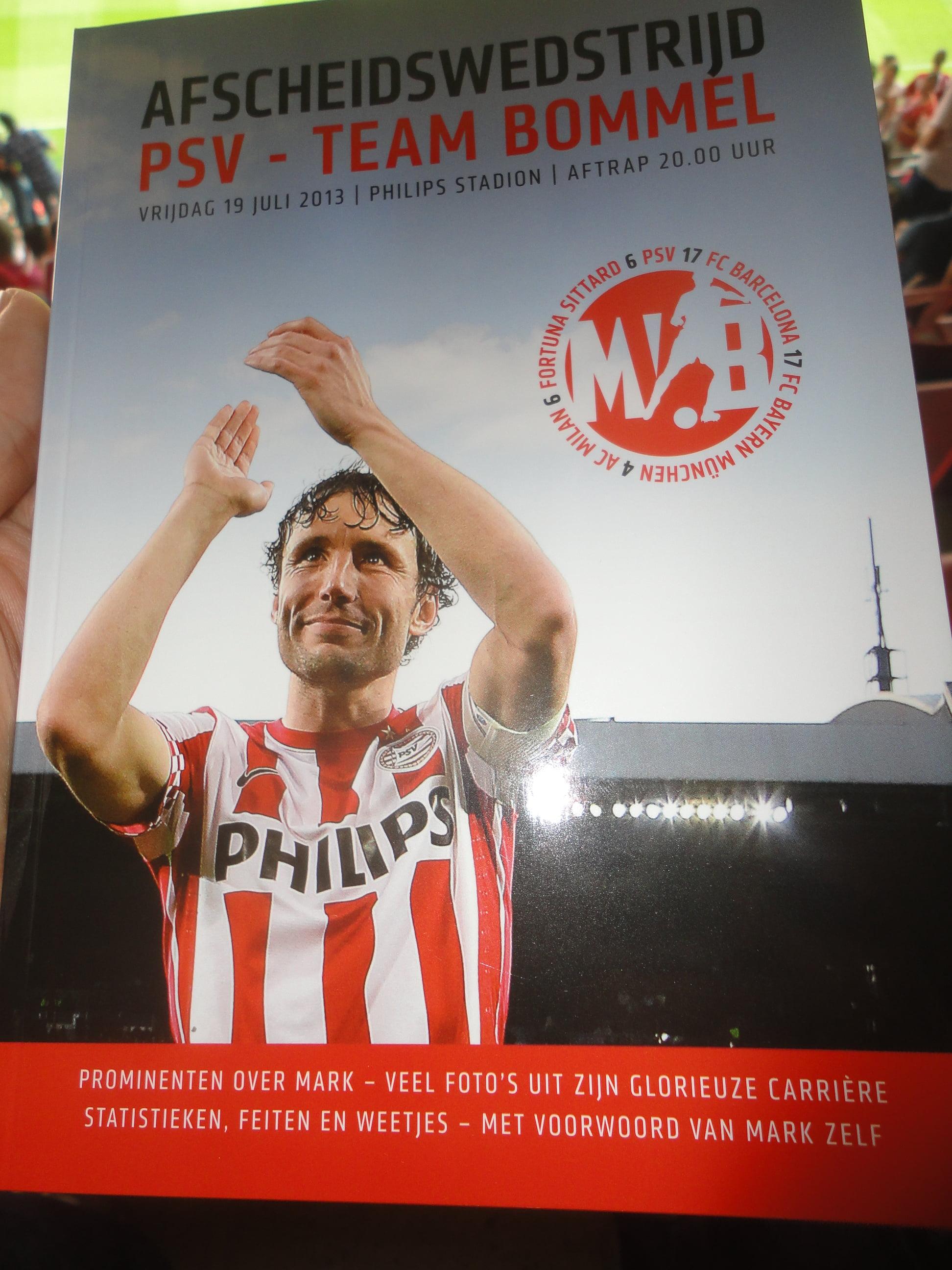 Afscheid van Mark van Bommel: deel I