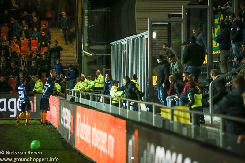 Opstelling tegen Go Ahead Eagles