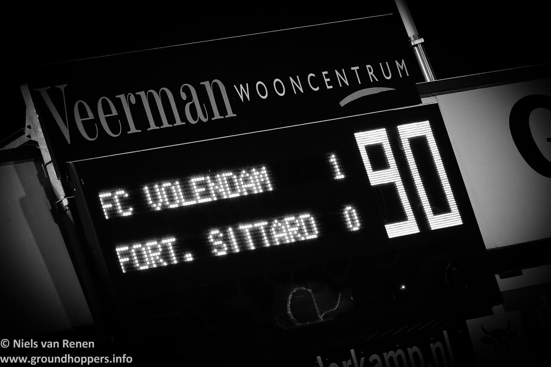 FC Volendam 1 Fortuna Sittard 0