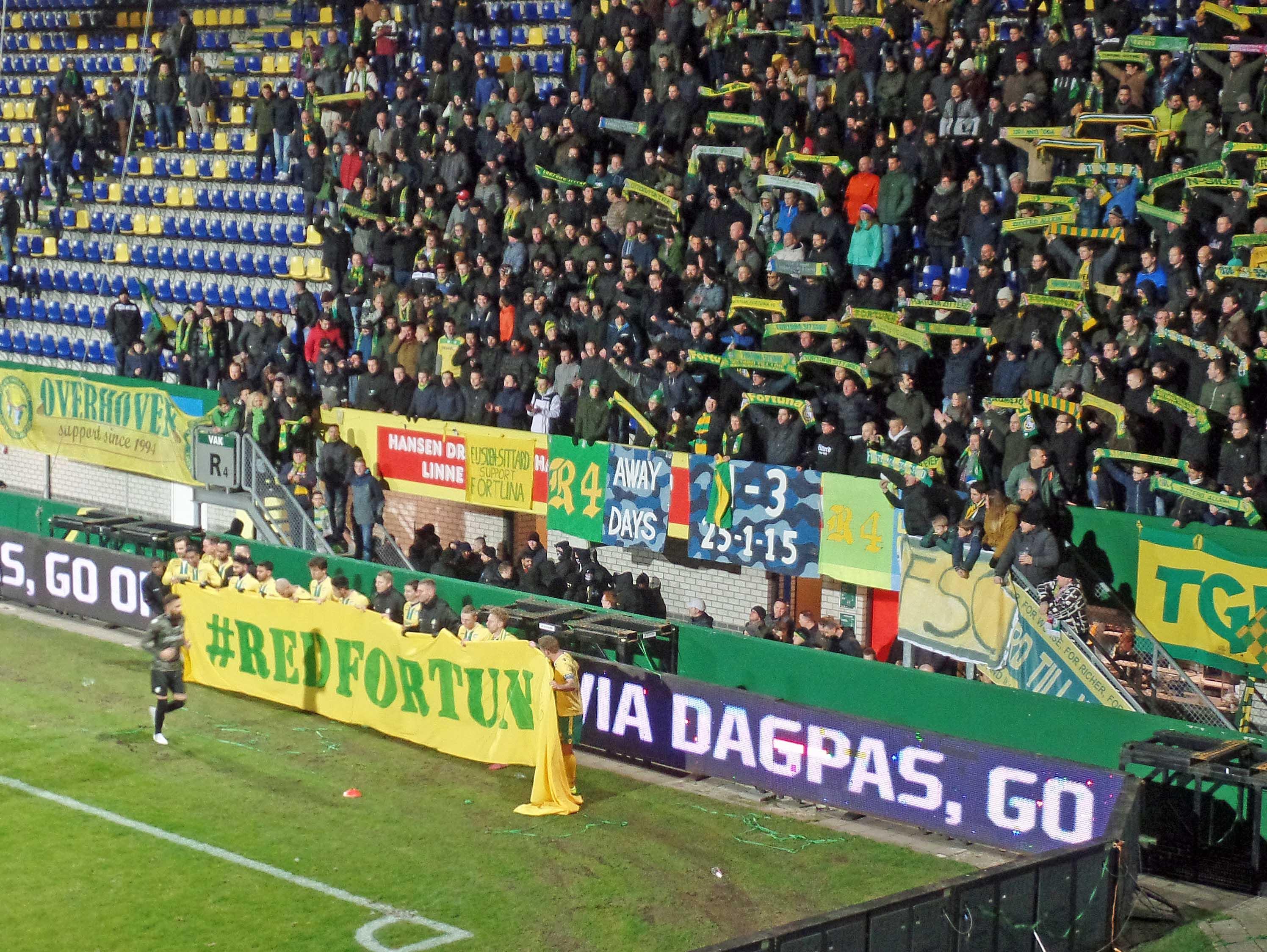 Fortuna Sittard 3 FC Oss 0