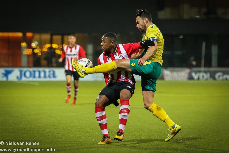 Jong PSV 0 Fortuna Sittard 1