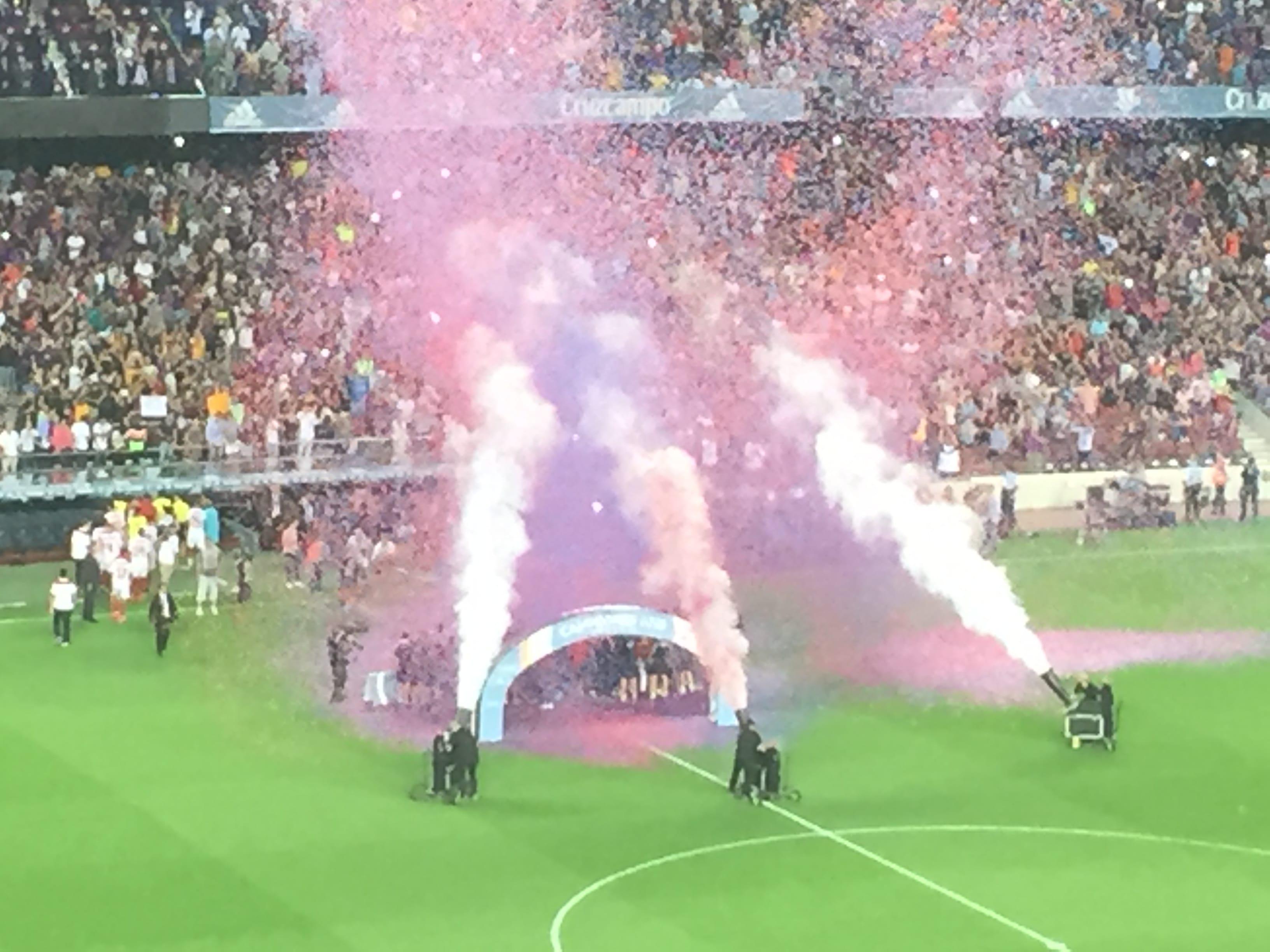 FC Barcelona 3 Sevilla FC 0