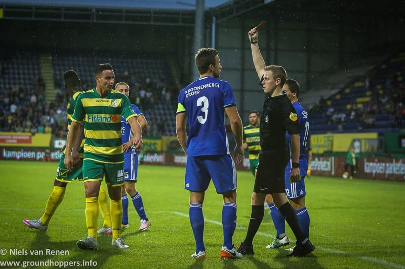 Opstelling tegen Almere City