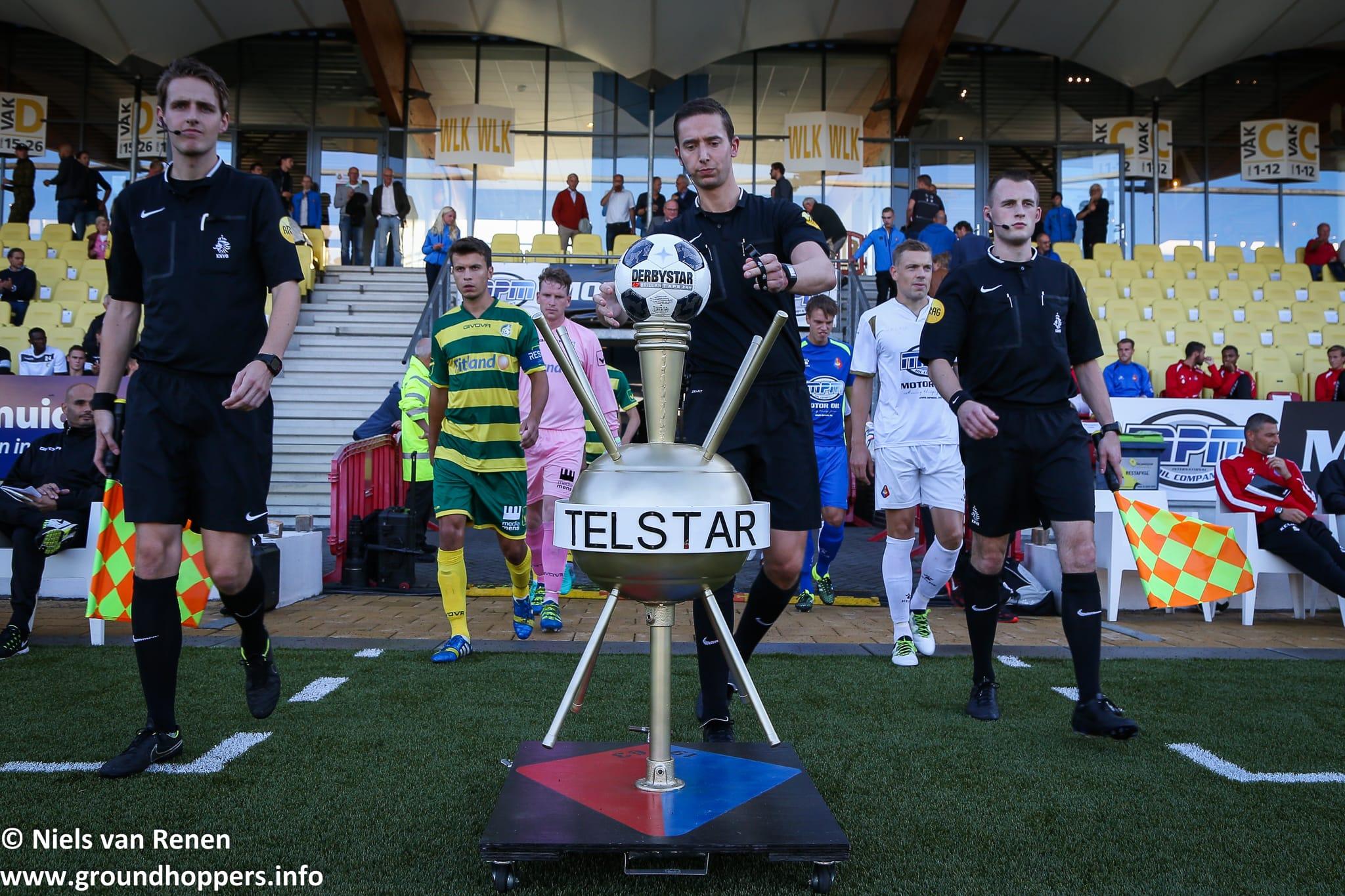 Met 232 supporters naar SC Telstar