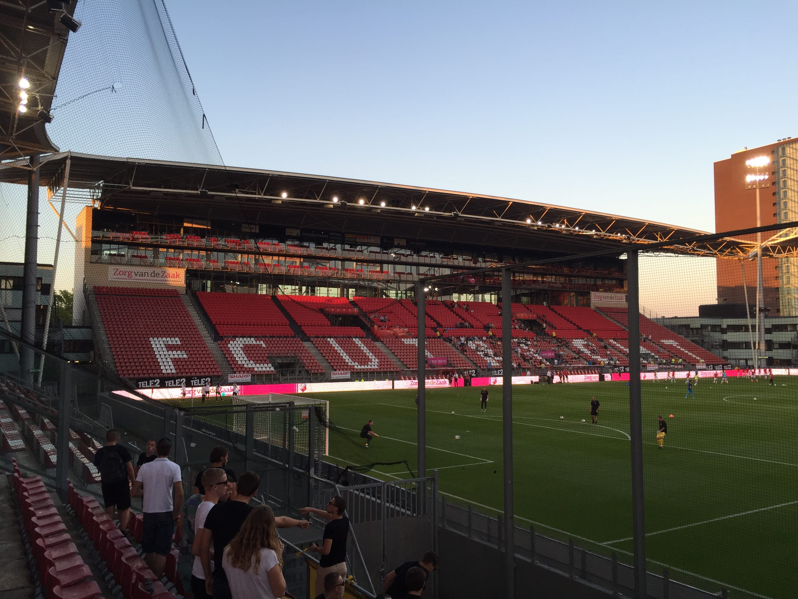 Jong FC Utrecht 3 Fortuna Sittard 0