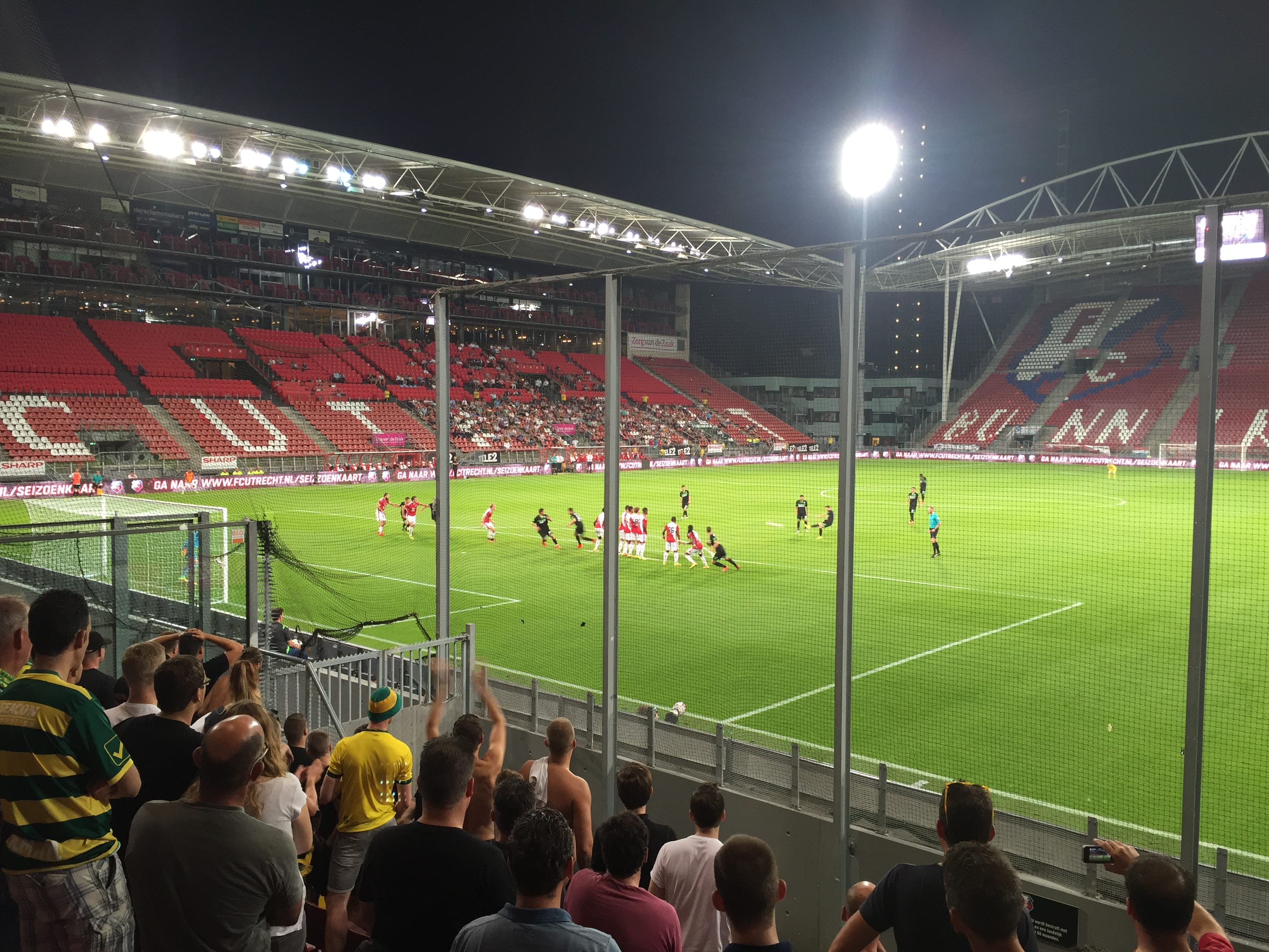 Extra verkoopmoment Jong Utrecht
