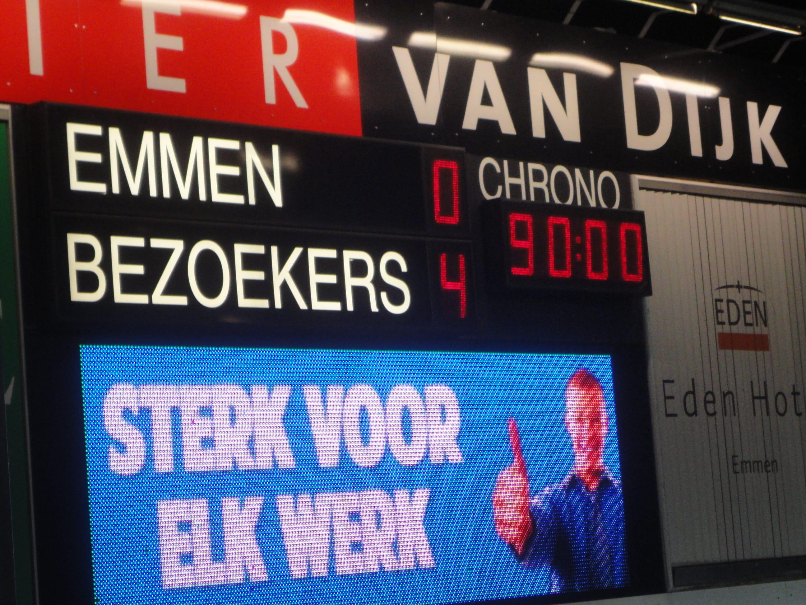 FC Emmen 0 Fortuna Sittard 4