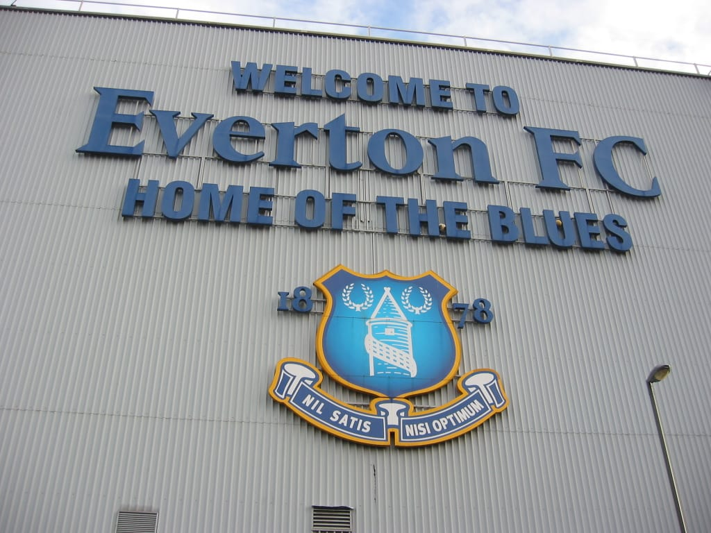 Everton FC, the Pride of Merseyside