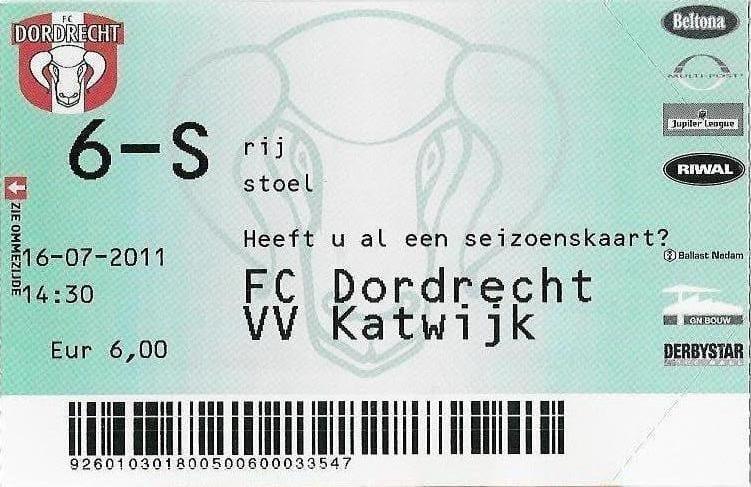 Uitreiking Van der Padt trofee 2010/2011
