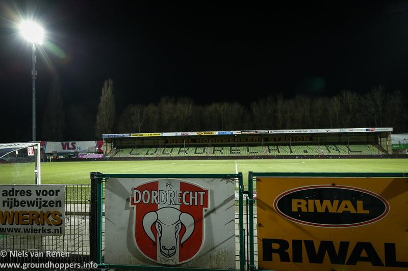 Opstelling tegen FC Dordrecht