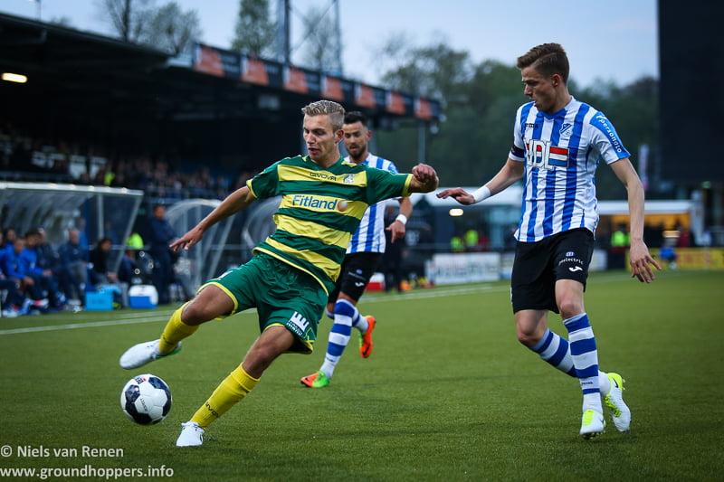 Opstelling tegen FC Eindhoven