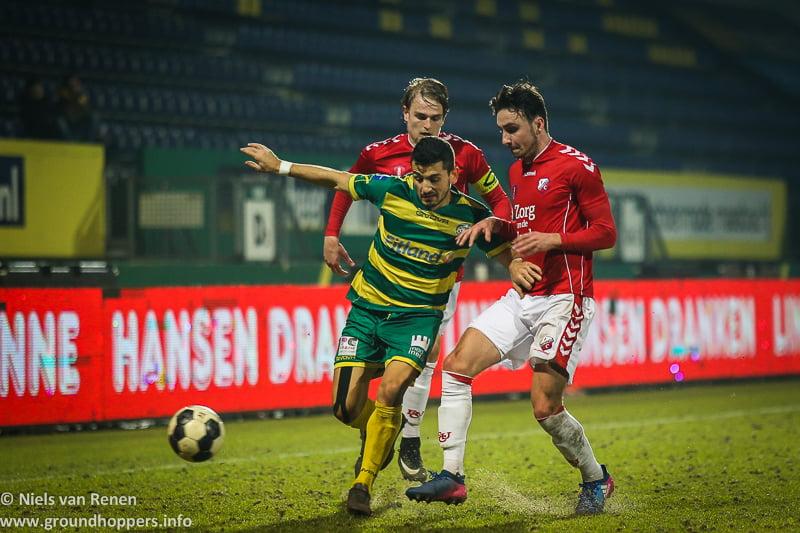 Opstelling tegen Jong FC Utrecht
