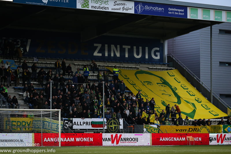 Opstelling tegen FC Den Bosch