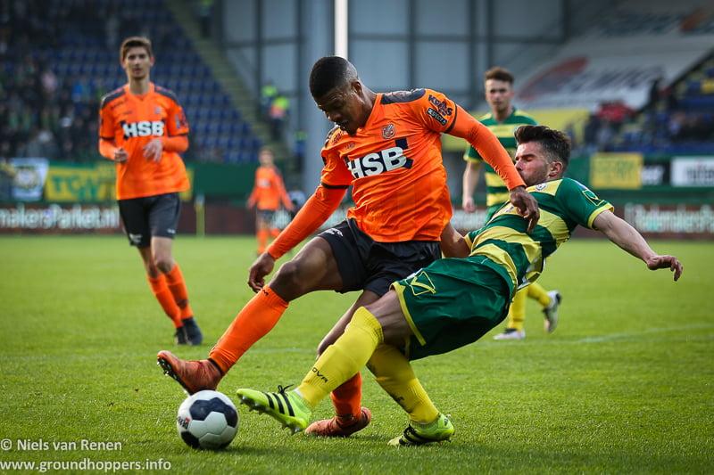 Opstelling tegen FC Volendam