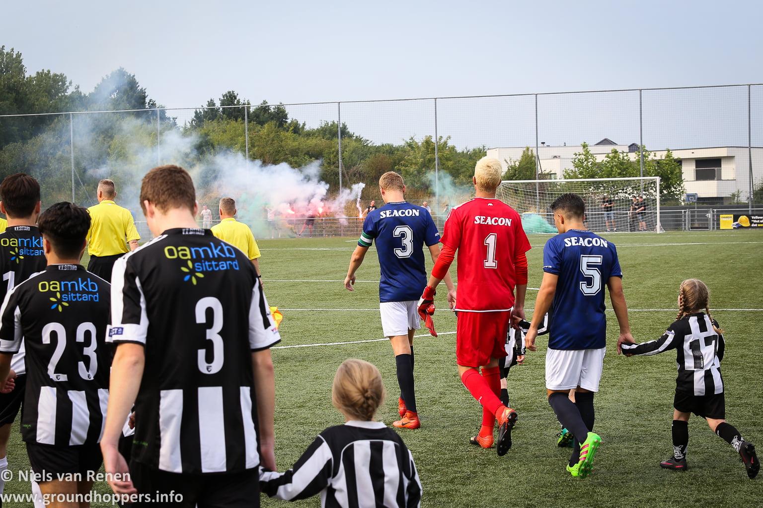 VV Sittard 0 Fortuna Sittard 8