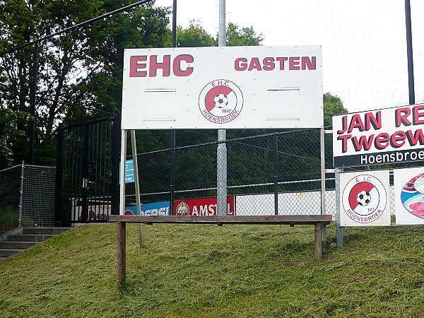 Oefenduel tegen EHC