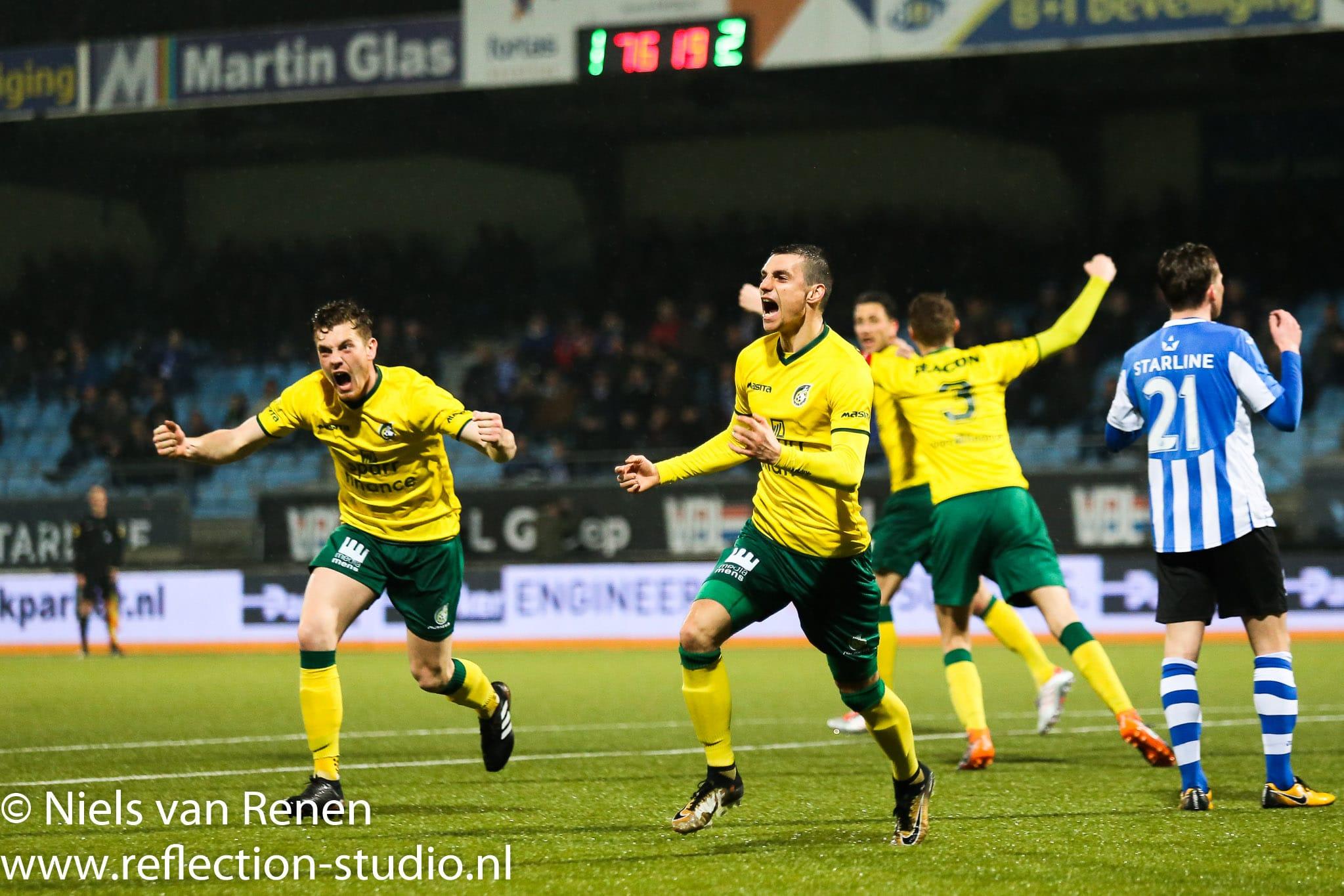 FC Eindhoven 1 Fortuna Sittard 3