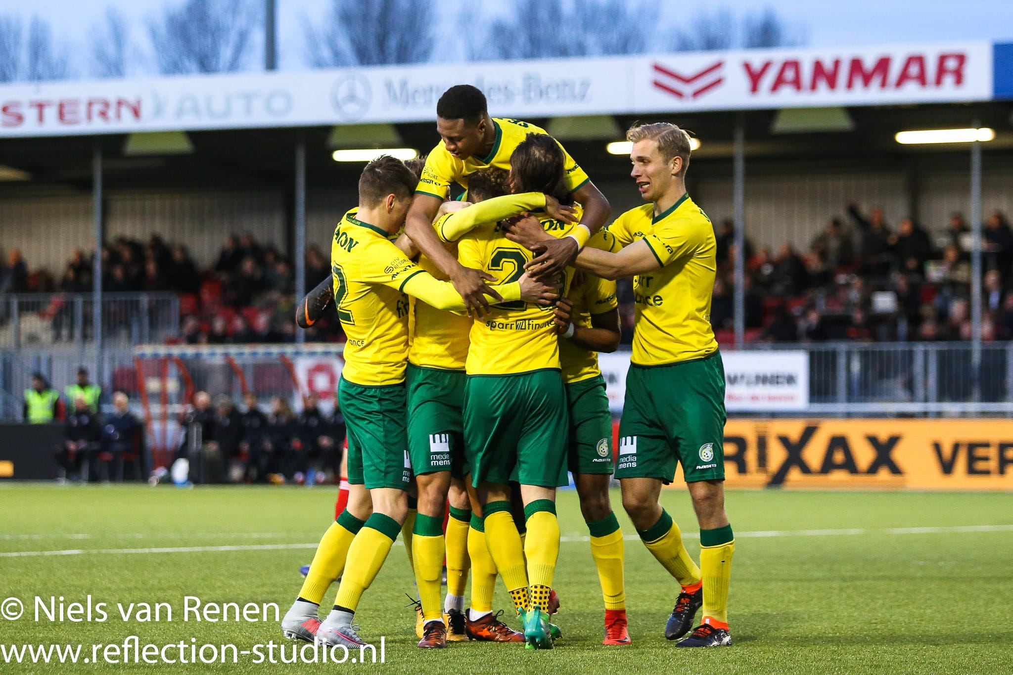 Almere City 1 Fortuna Sittard 4