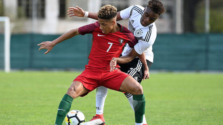 Vidigal verliest met Portugal van Duitsland
