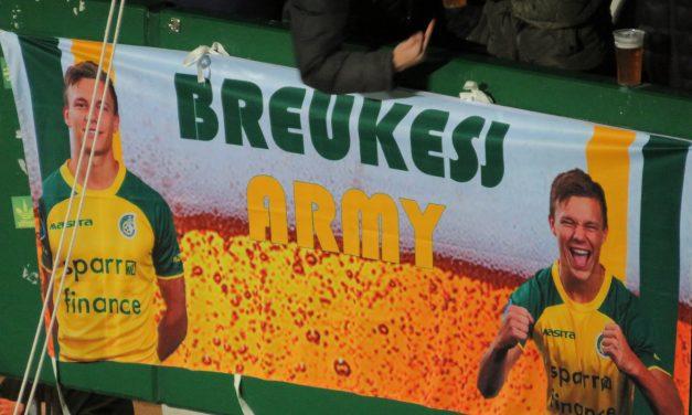 Bas Breukers tekent contract