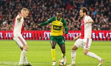 Ajax – Fortuna Sittard verplaatst