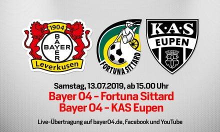 'Leverkusen-uit' live te volgen op sociale media