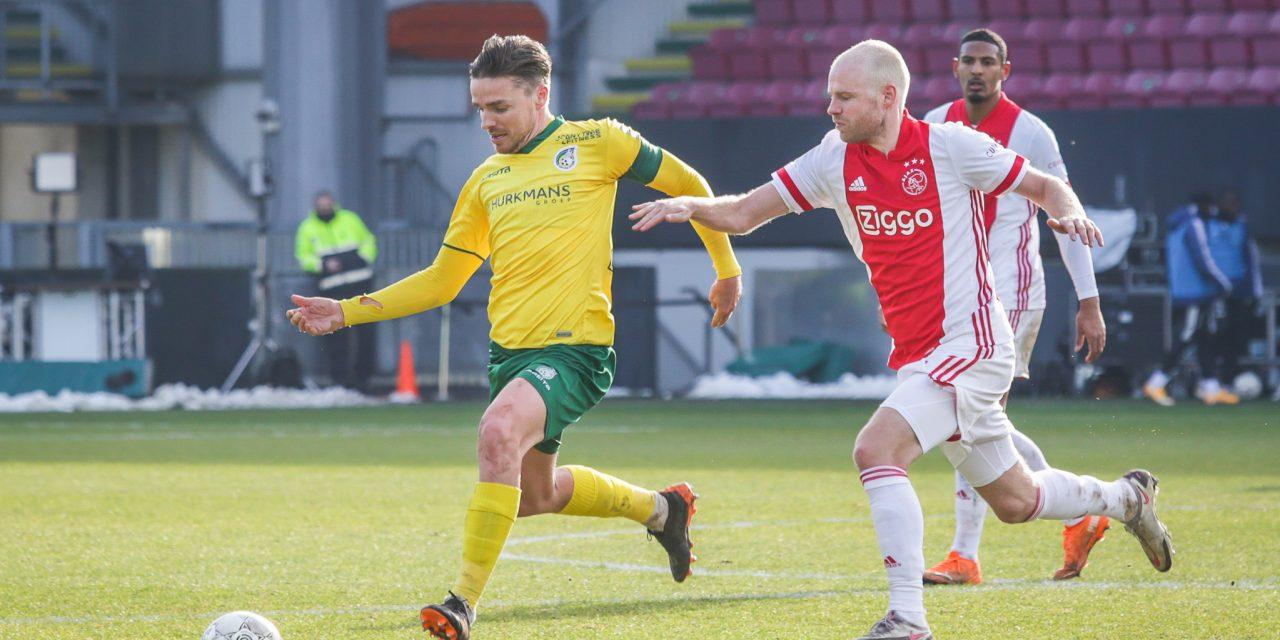 Opstelling tegen Ajax