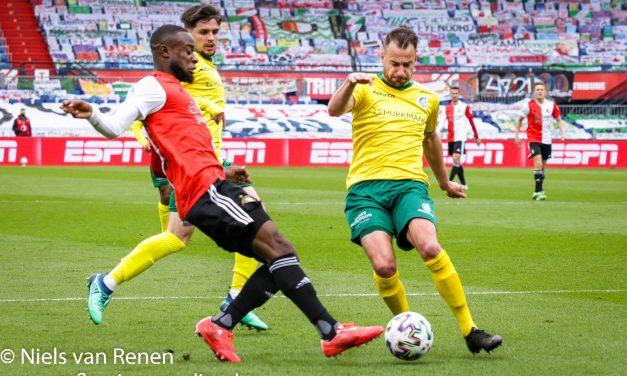 Feyenoord 2 Fortuna Sittard 0