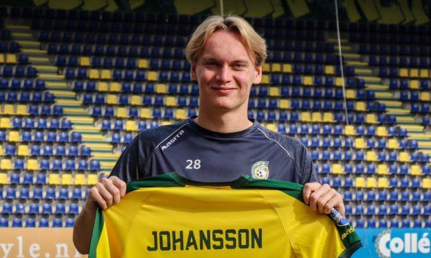 Fortuna huurt Johansson